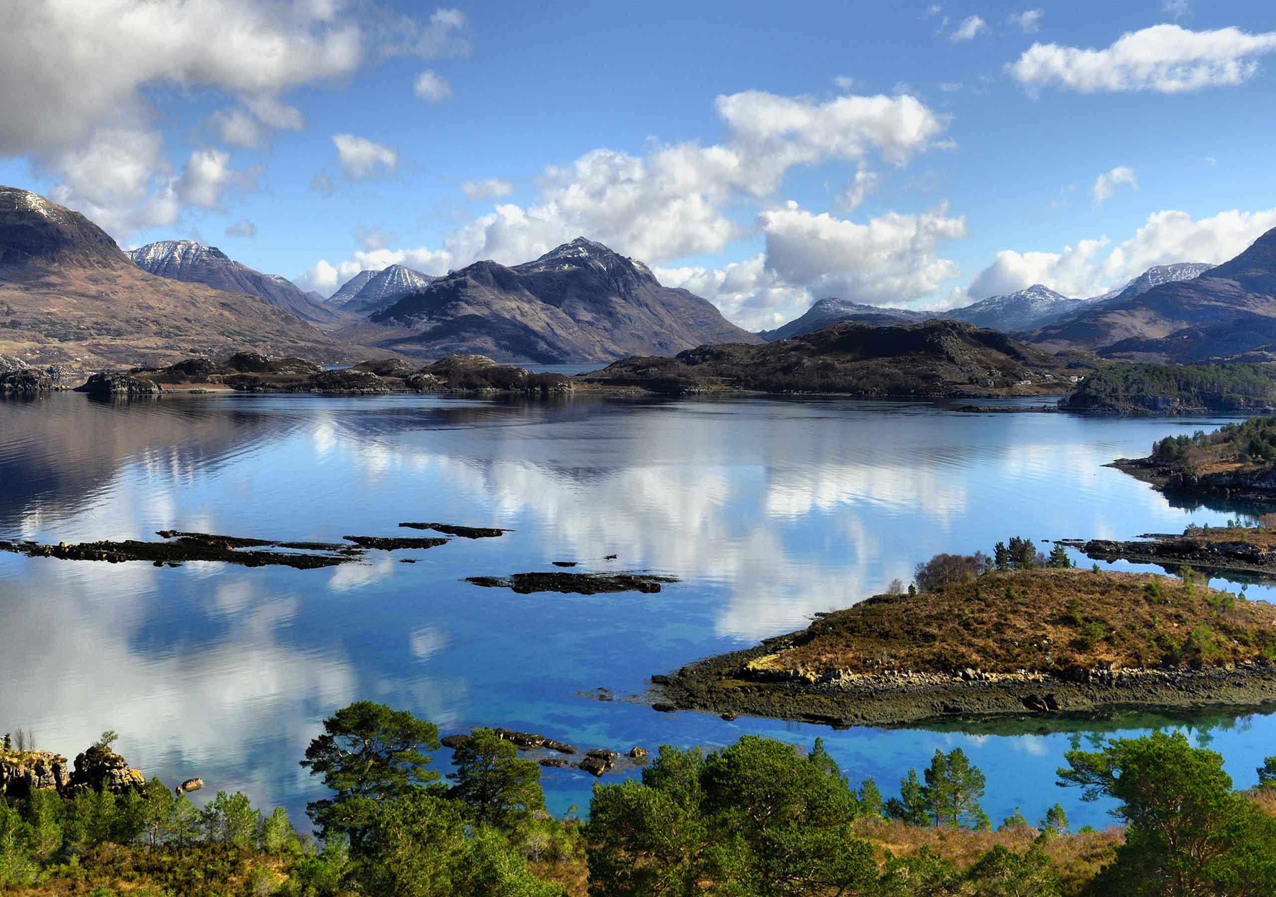 Loch Torridon Panoramic image